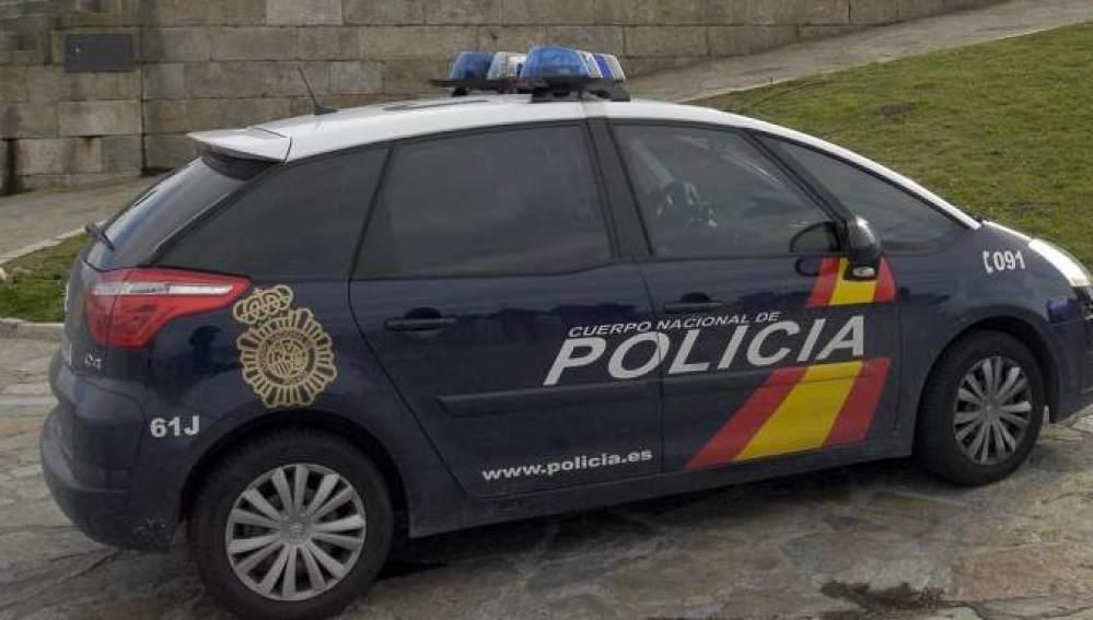 Coche de una patrulla policial