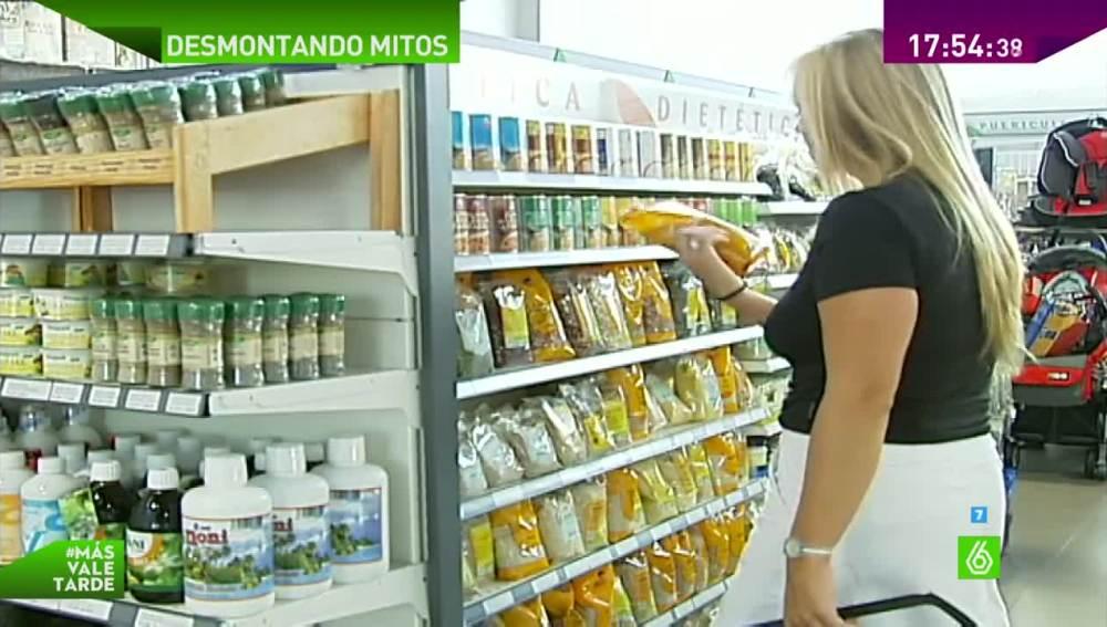 Productos en una tienda