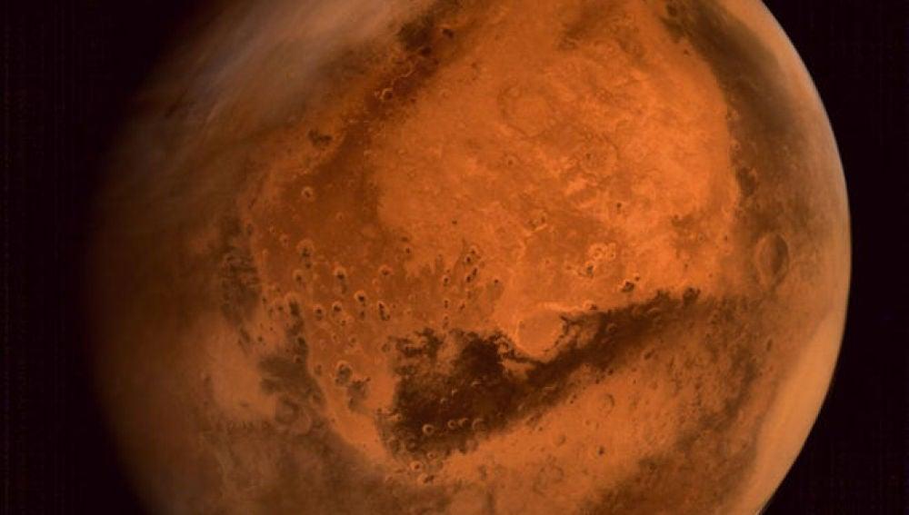 Marte visto por la sonda india Mangalyaan