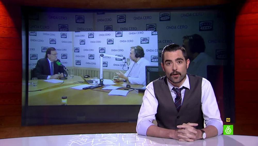 Dani Mateo opina sobre la entrevista de Rajoy en Onda Cero