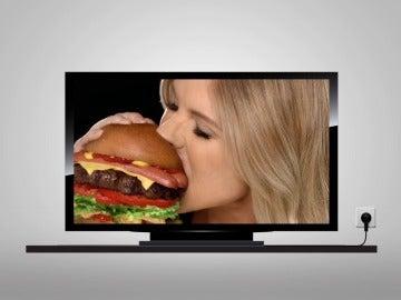 Si te escuchas masticar, comerás menos