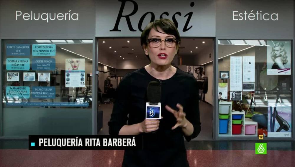 Thais Villas, peluquería Rita Barberá