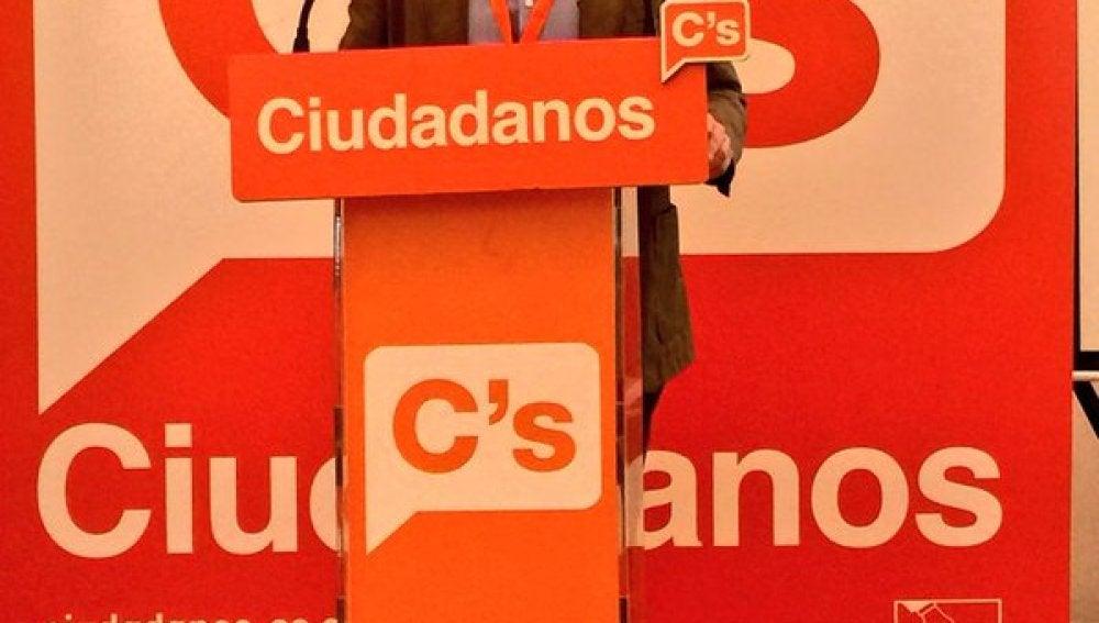 José María Espejo-Saavedra, miembro de la dirección de Ciudadanos