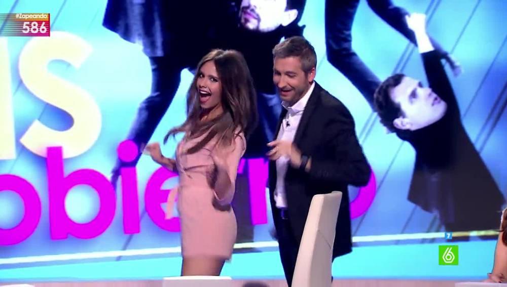 Cristina Pedroche baila con Frank Blanco