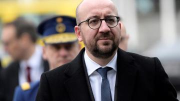 Charles Michel , primer ministro belga