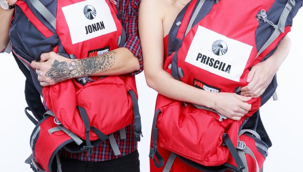 Jonan y Priscila, en Pekin Express