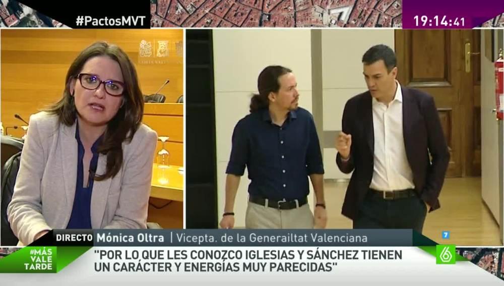 Mónica Oltra en MVT