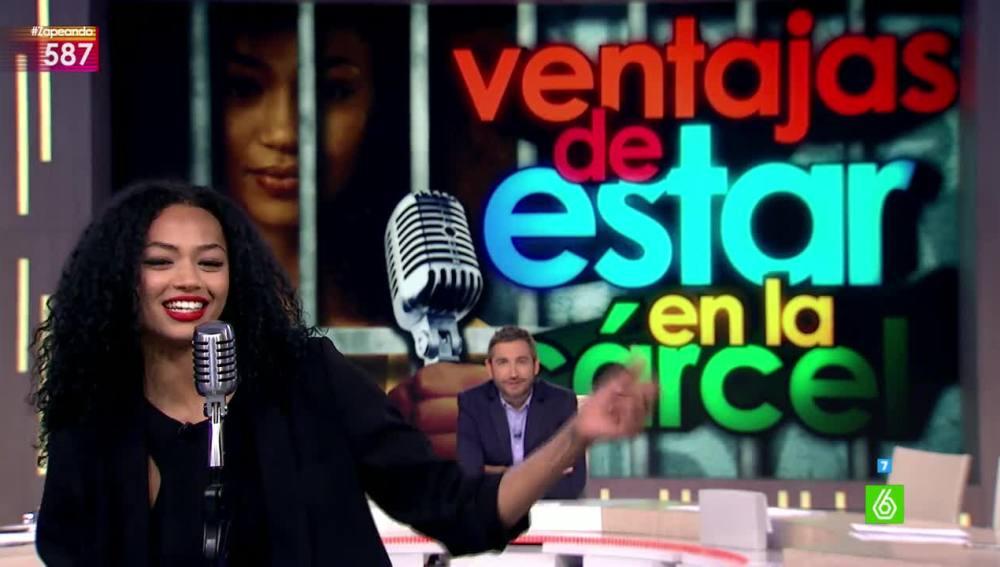Berta Vázquez en Zapeando