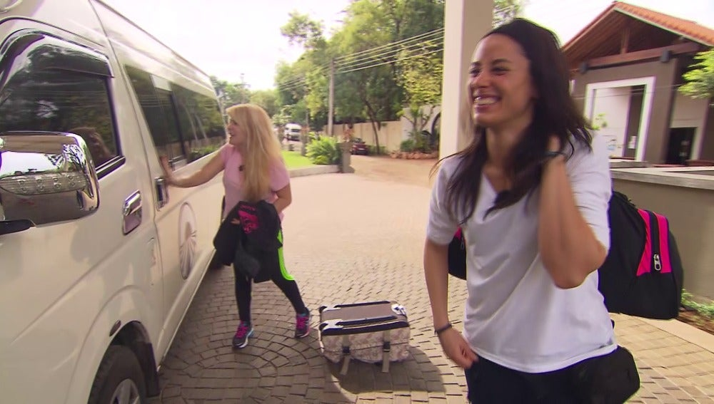 Andrea y Vanessa concursantes Pekín Express