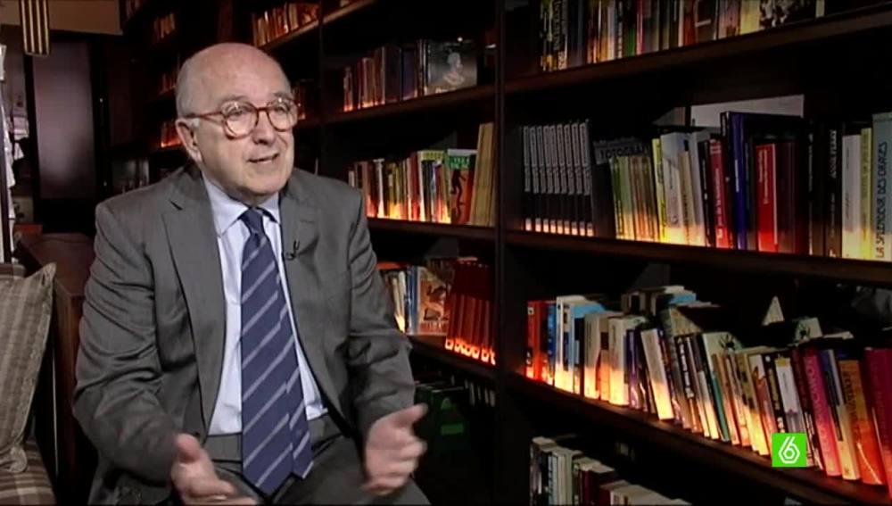 Joaquín Almunia, exministro de Trabajo del PSOE