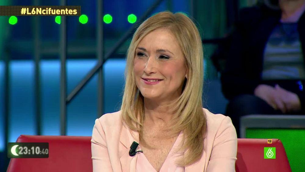 """Cristina Cifuentes: """"A mí me extrañaba un poco el nivel de vida de Granados"""""""