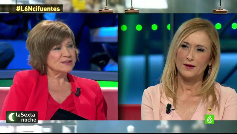 """Cristina Cifuentes: """"Si tengo un diputado imputado le ceso en el mismo momento"""""""