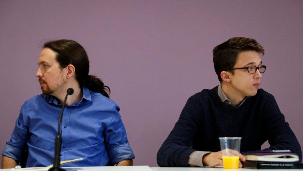 Pablo Iglesias e Íñigo Errejón, en una imagen de archivo