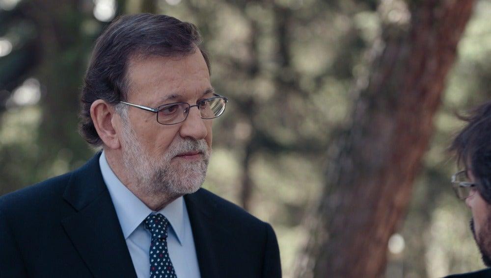 Mariano Rajoy en Salvados