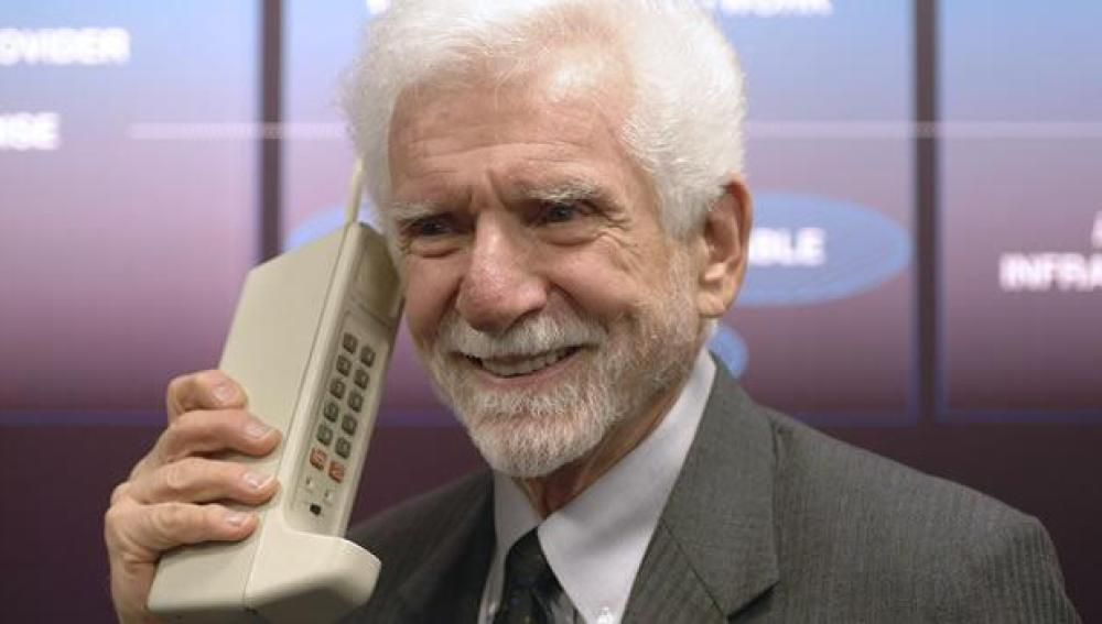 Martin Copper, creador del primer teléfono móvil
