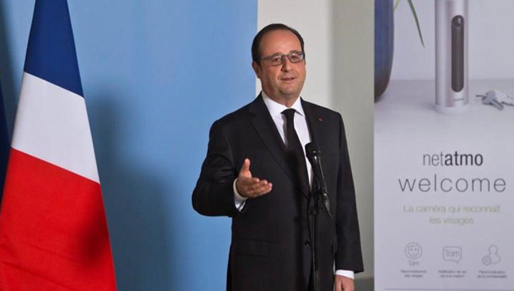 Hollande en una imagen de archivo
