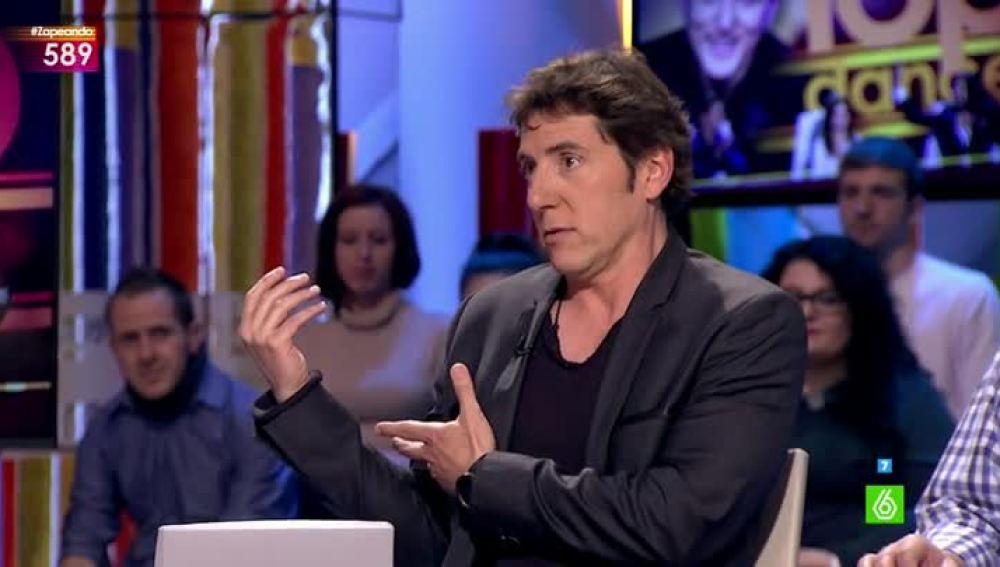Manel Fuentes, presentador de Top Dance, en Zapeando