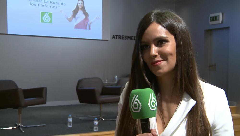 Cristina Pedroche, presentadora de Pekín Express