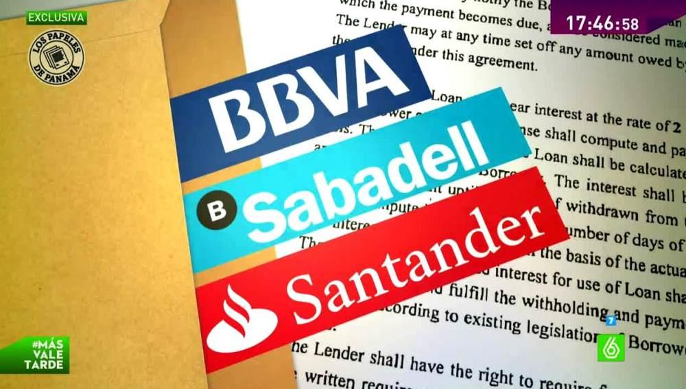 bbva, SABADELL Y sANTANDER