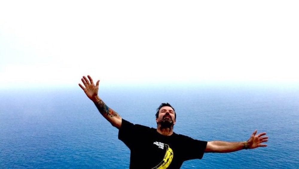 Pau Donés celebra haber vencido al cáncer