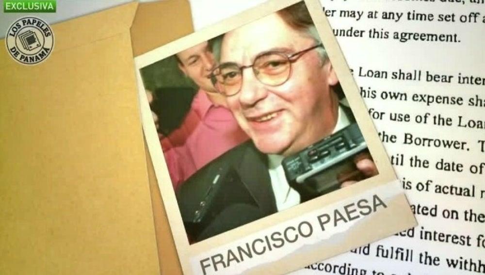 Francisco Paesa aparece en los papeles de Panamá