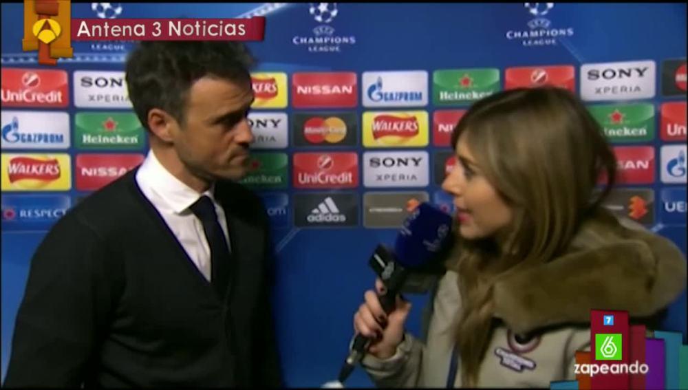 Susana Glasch entrevista a Luis Enrique