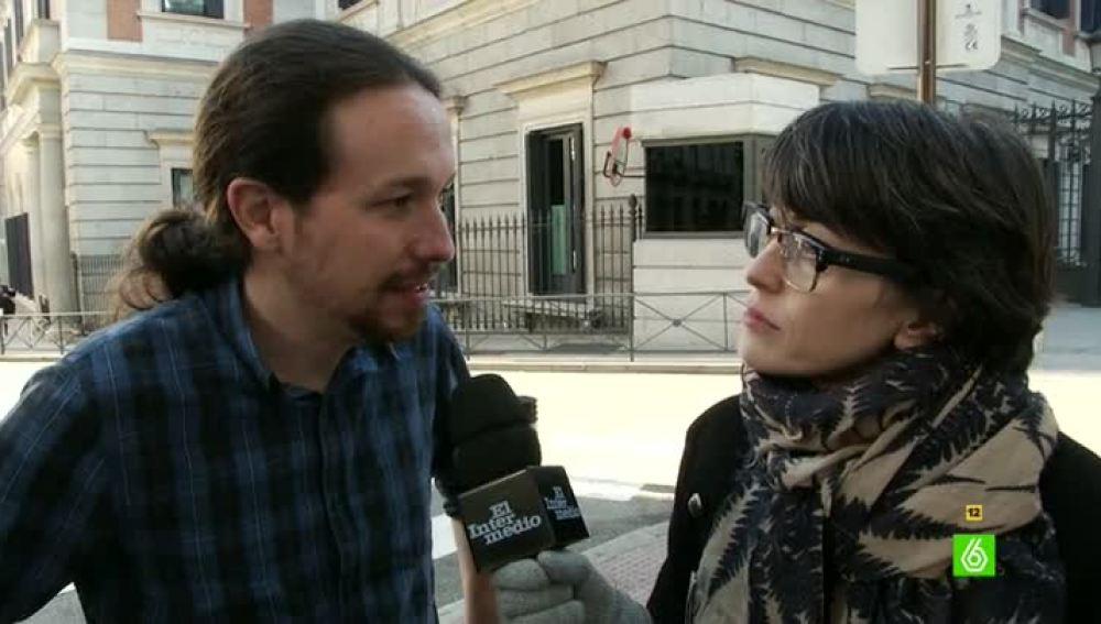 Thais Villas entrevista a Pablo Iglesias