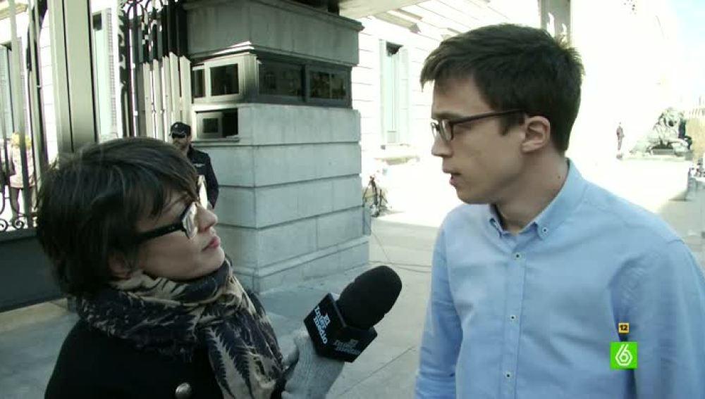 Thais Villas entrevista a Íñigo Errejón