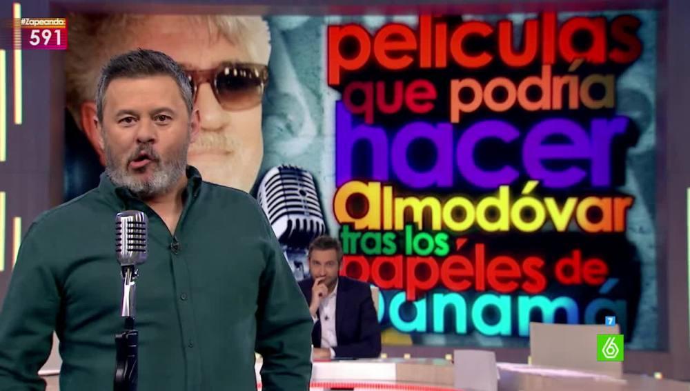 Miki Nadal aconseja a Pedro Almodóvar