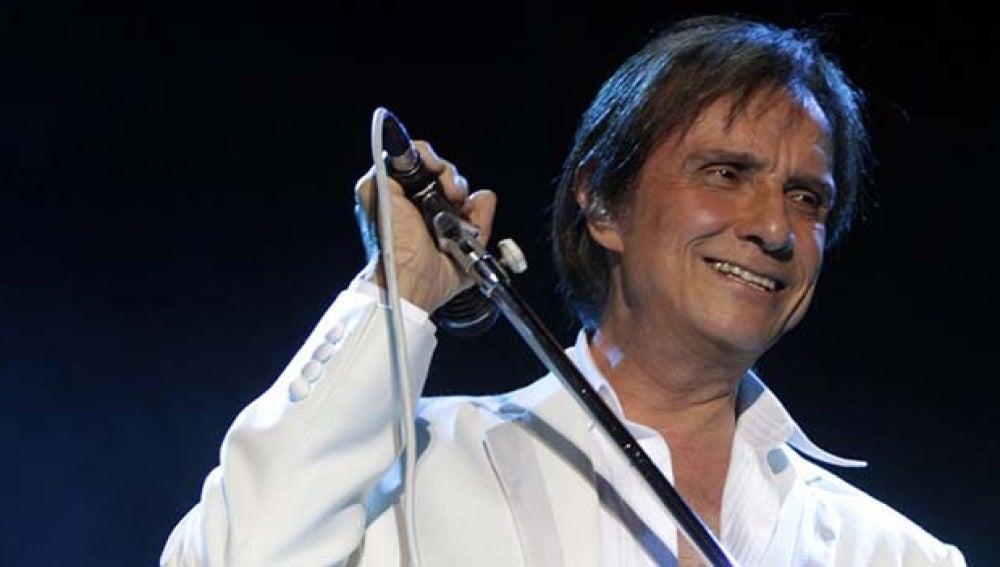 El cantante Roberto Carlos