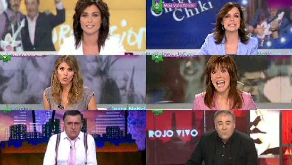 Los presentadores de laSexta versionan el chiki chiki