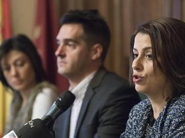 Emma Buj, alcaldesa de Teruel
