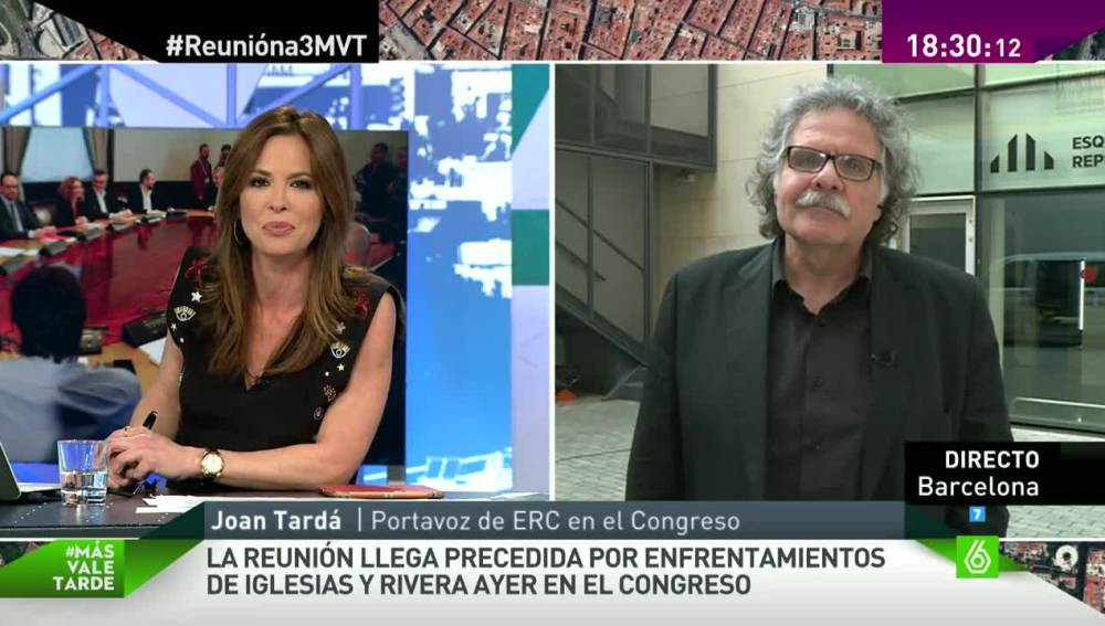 Joan Tardá en Más Vale Tarde
