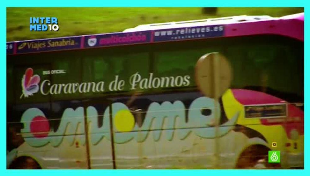 La caravana de palomos cojos, Premio Wyo al mejor momento gay-friendly