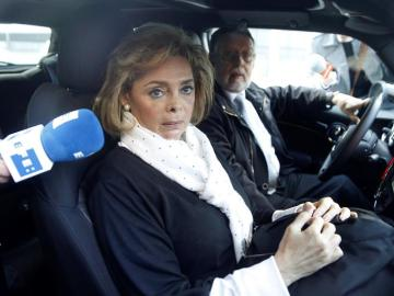 Alcón y Alfonso Grau, en su coche