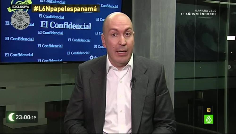 Nacho Cardero, director de El Confidencial