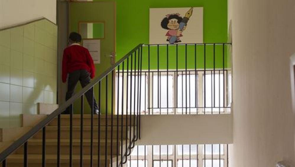 El acceso a las aulas es un obstáculo infranqueable
