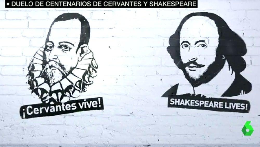 William Shakespeare, Miguel de Cervantes