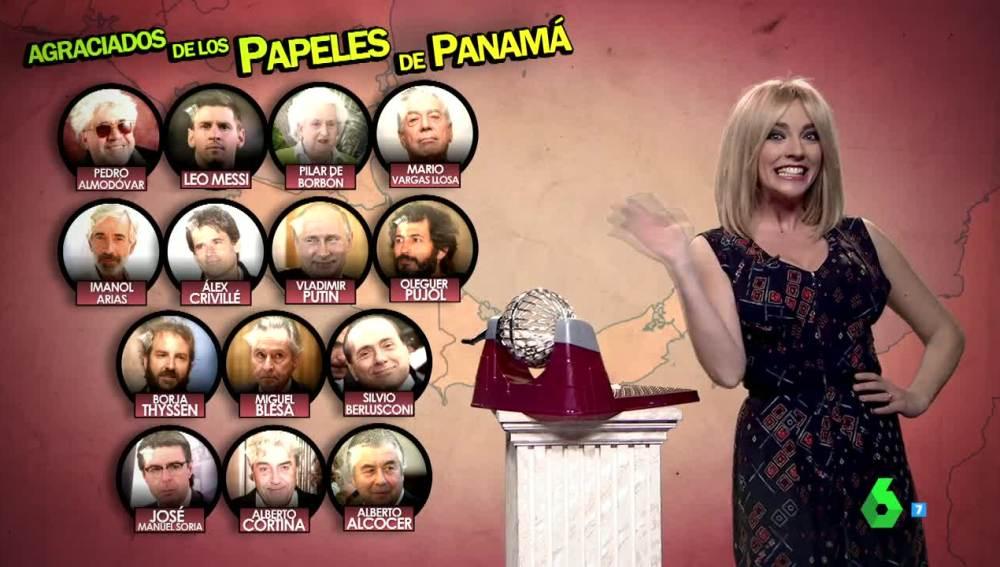 Anna Simon azafata papeles de panamá