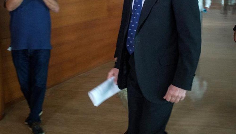 El ministro de Industria, Energía y Turismo en funciones, José Manuel Soria