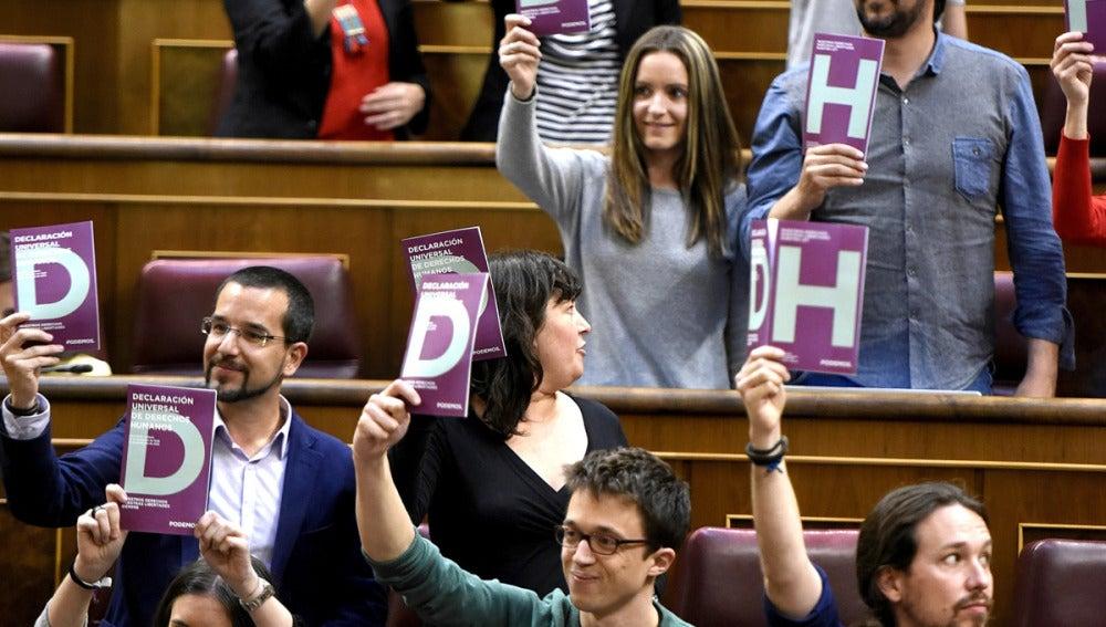 Diputados de Podemos