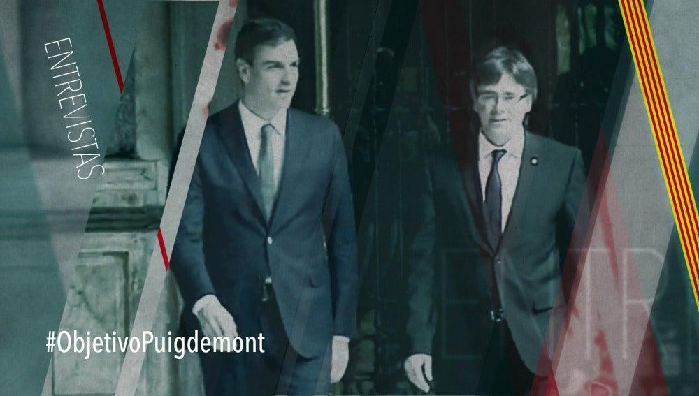 Este domingo Carles Puigdemont en El Objetivo