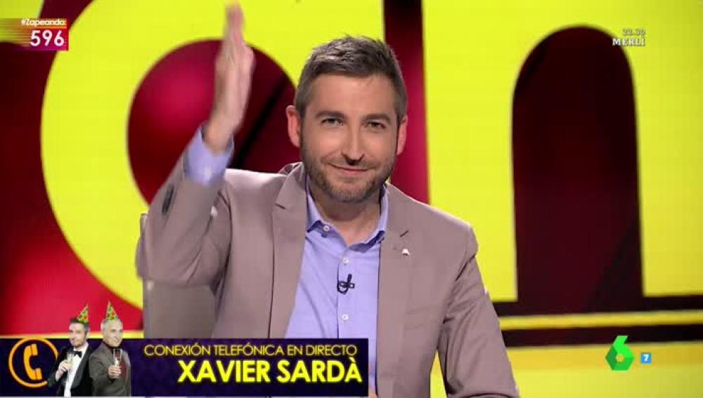 Frank Blanco habla con Xavier Sardá en directo
