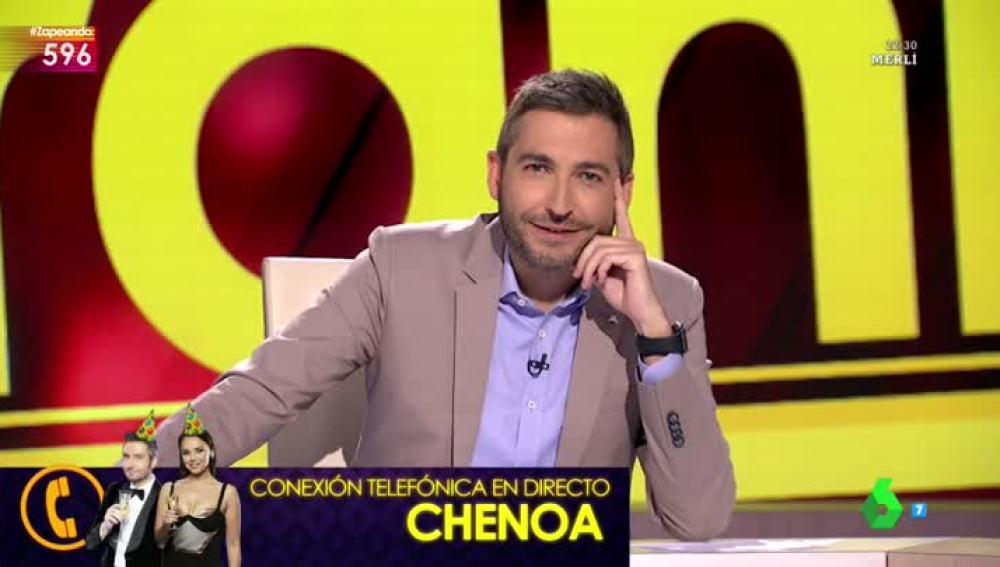 Chenoa felicita a Frank Blanco por su cumpleaños