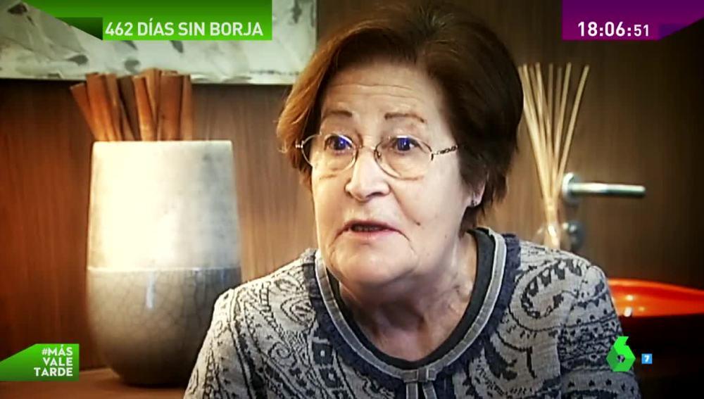 Ana Herrero, madre del desaparecido Borja Lázaro