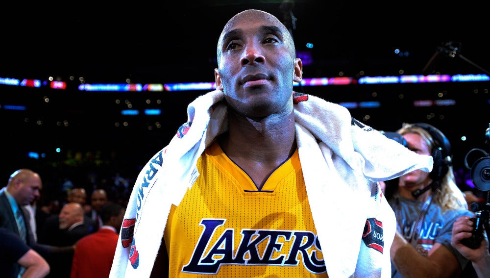 online store 28bff b7442 Kobe Bryant, emocionado tras disputar el último partido de su carrera