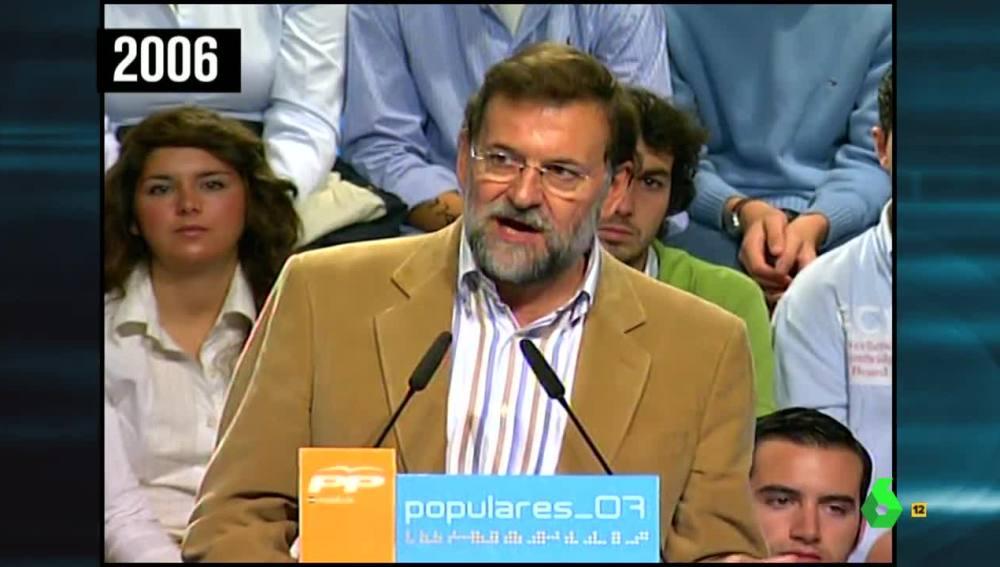 Rajoy en 2006