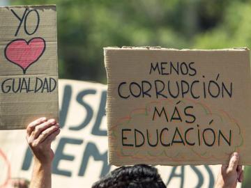Huelga de estudiantes