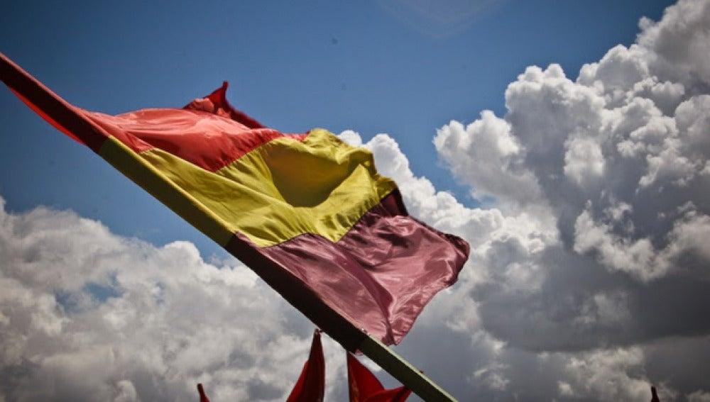 Imagen de una bandera republicana