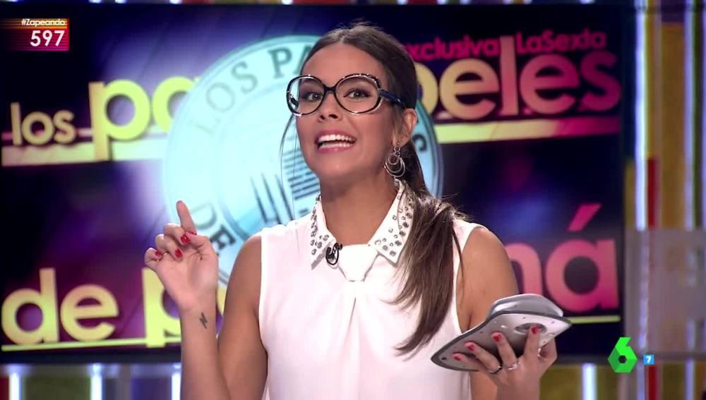 Cristina Pedroche contando los mentiroso de Ferreras